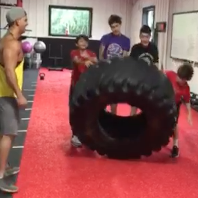 Youth Elite Team Tire Flip