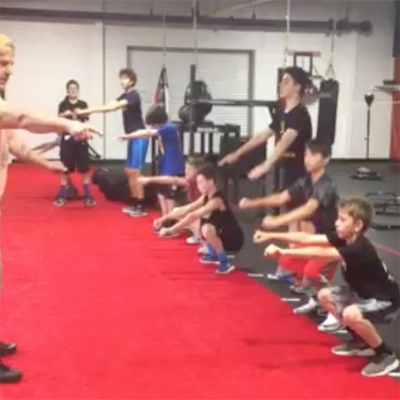 Youth Elite Conditioning Squats